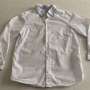 Zara boys dress shirt